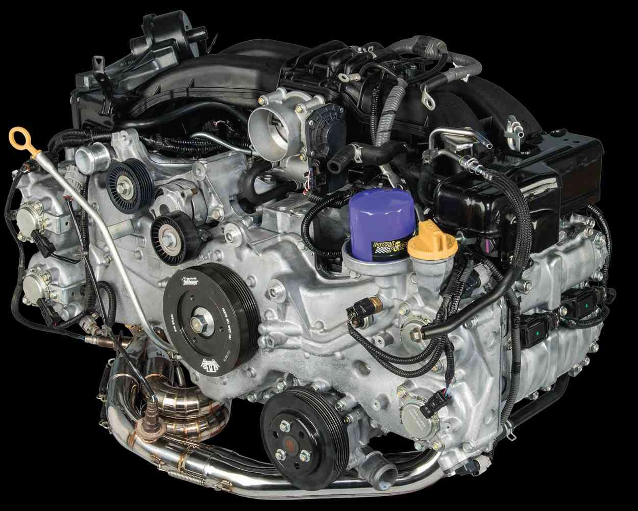 LASLEEVE BRZ Project Engine view