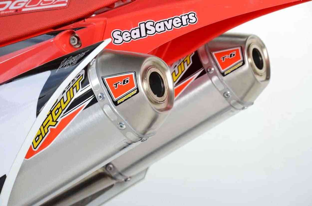 L.A.SLEEVE CRF450RX exhaust